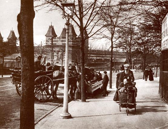 Image - Scène de rue près du Crystal Palace, à Londres