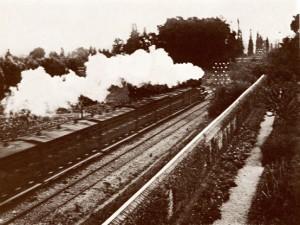 photographie 546 Le train à Médan par Zola