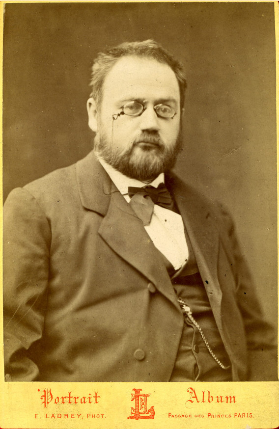 Image - Emile Zola en 1888