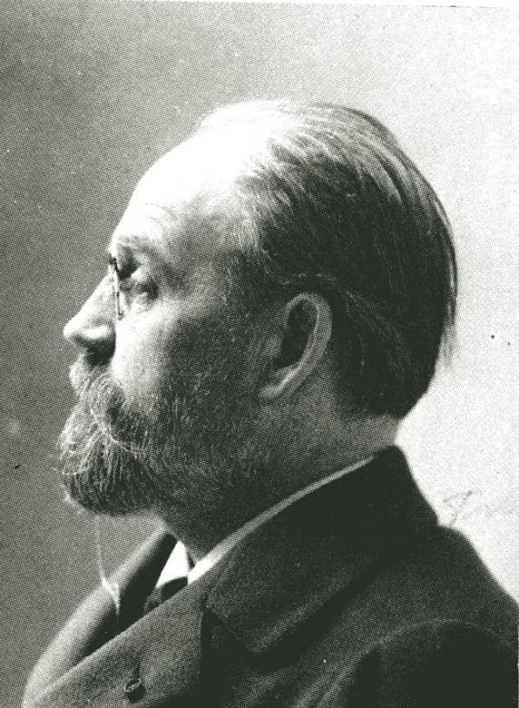 Image - Emile Zola, de profil gauche