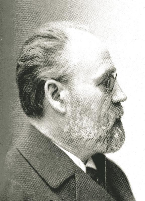 Image - Emile Zola, de profil droit