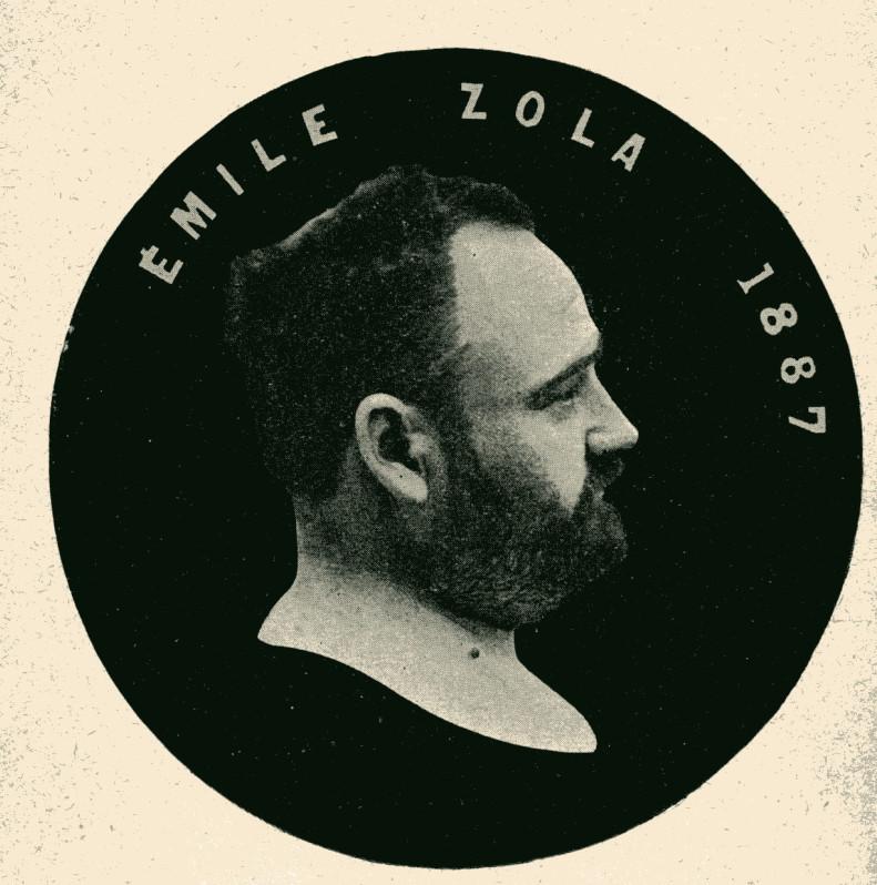 Image - Emile Zola en médaillon
