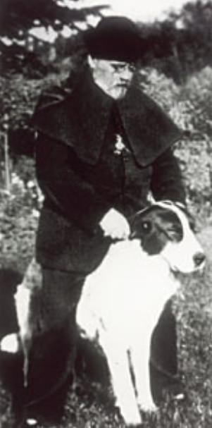 Image - Autoportrait de Zola avec son chien