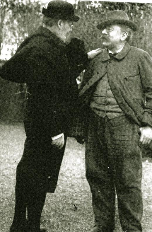 Image - Emile Zola et Paul Alexis à Verneuil