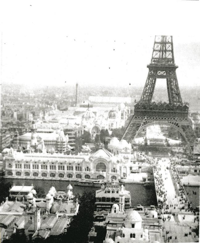 Image - Perspective de la tour Eiffel