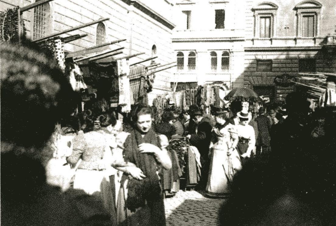Image - Un marché, à Rome