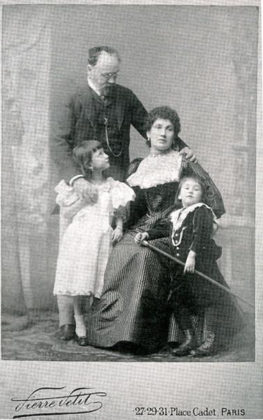 Image - Emile Zola et Jeanne Rozerot, avec Denise et Jacques