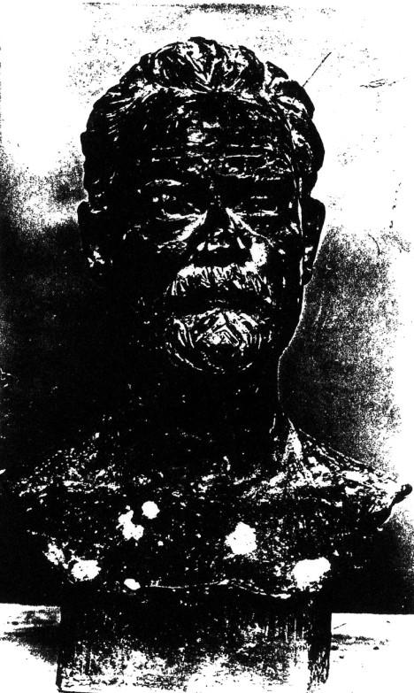 Image - Buste d'Emile Zola par Bernstamm