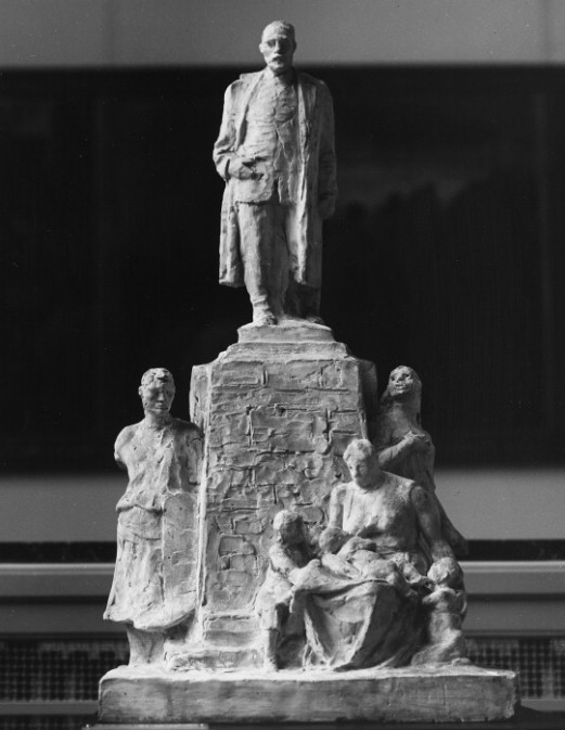 Image - Maquette pour le monument à Emile Zola de Paris