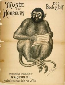 01 Musée des horreurs Boule de Juif n°1